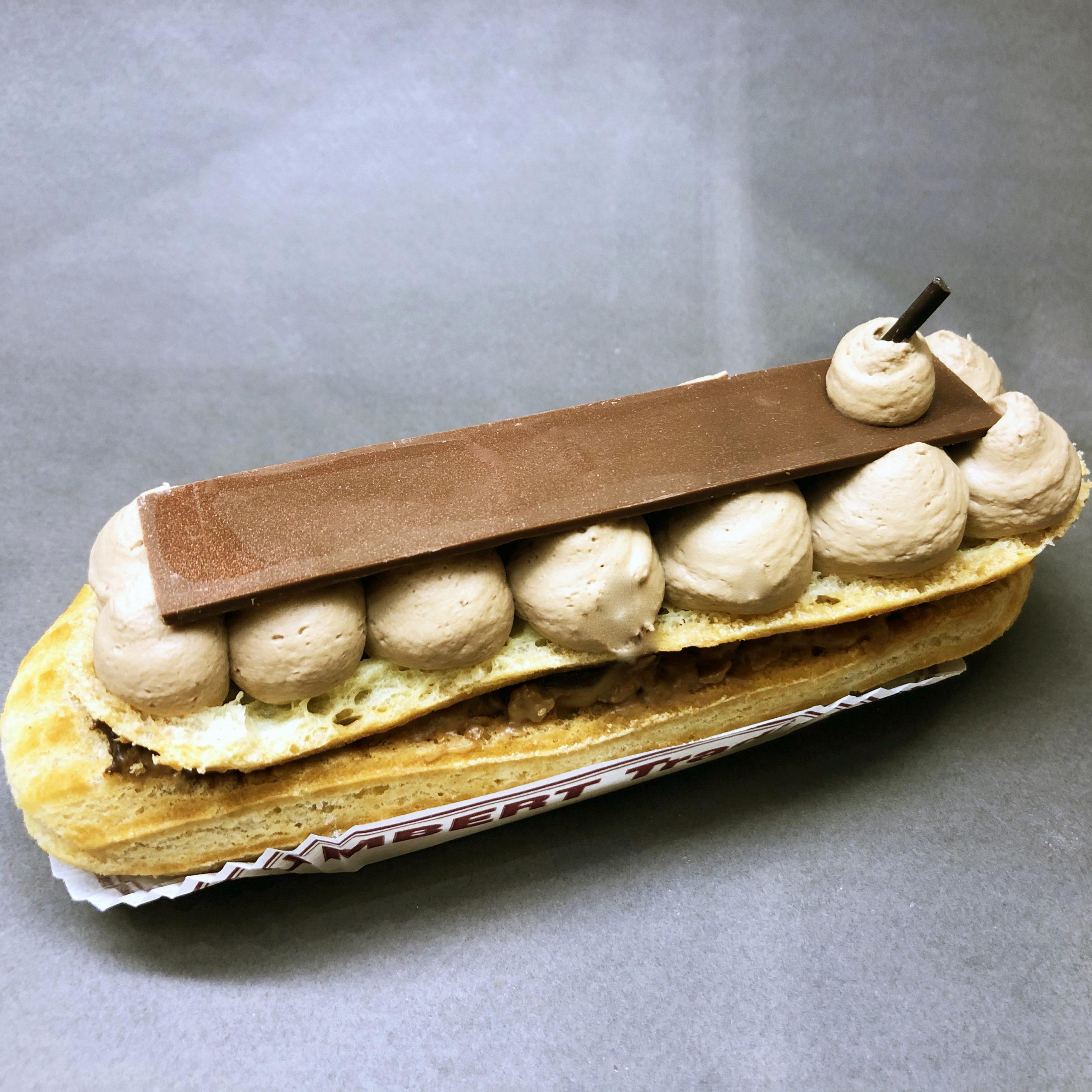 éclair deux chocolats