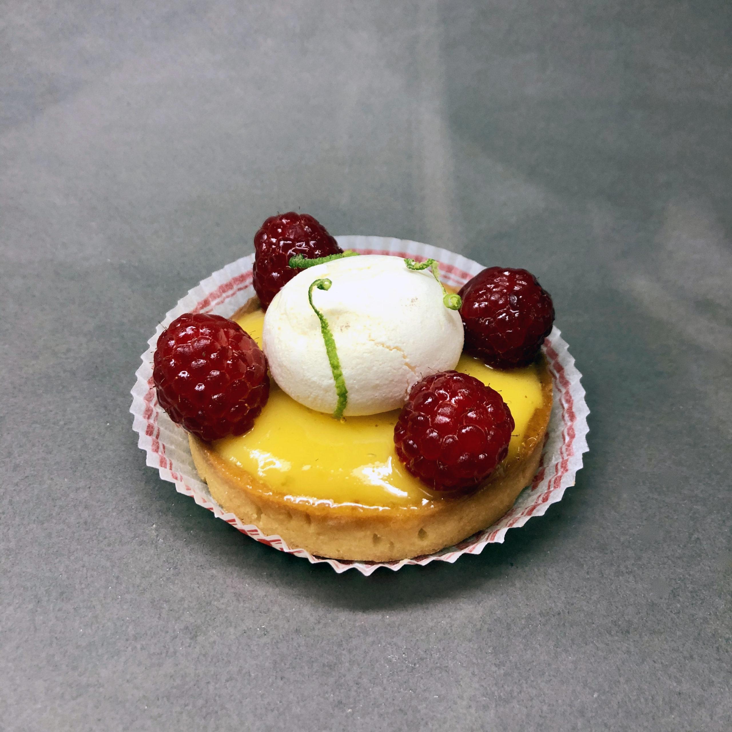 tartelette citron framboise